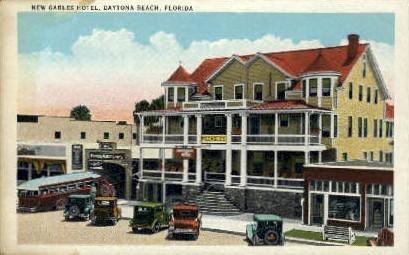 New Gables Hotel - Daytona Beach, Florida FL Postcard