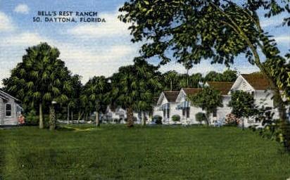Bell's Rest Ranch - Daytona Beach, Florida FL Postcard