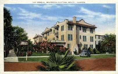 Geneva Hotel - Daytona Beach, Florida FL Postcard