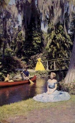 Southern Belles - Cypress Gardens, Florida FL Postcard