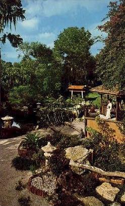 Orient Plants - Cypress Gardens, Florida FL Postcard