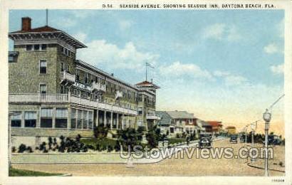 Seaside Inn - Daytona, Florida FL Postcard