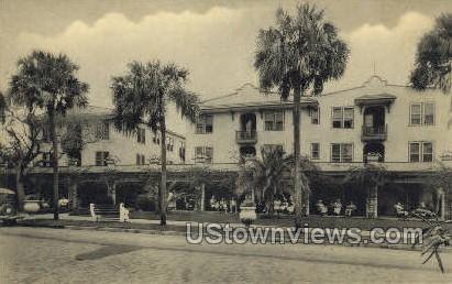 Geneva Hotel - Daytona, Florida FL Postcard