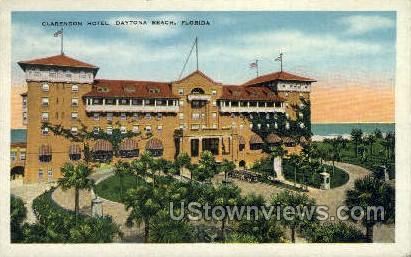 Clarendon Hotel - Daytona, Florida FL Postcard