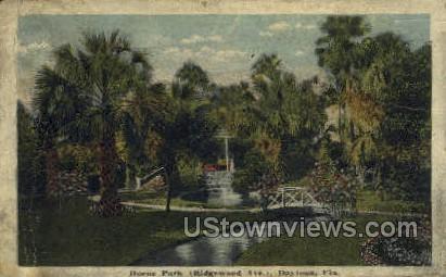 Hoene Park - Daytona, Florida FL Postcard