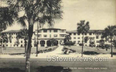 Hotel Princess Issena - Daytona, Florida FL Postcard
