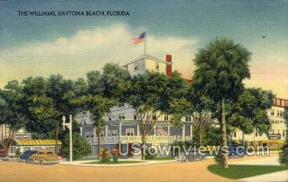 The Williams - Daytona, Florida FL Postcard