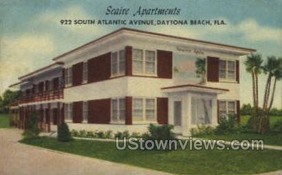 Seaire Apts - Daytona, Florida FL Postcard