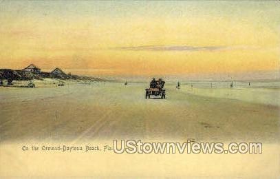 Ormond - Daytona, Florida FL Postcard