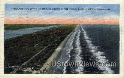 Race Course - Daytona, Florida FL Postcard