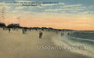 Automobile Club - Daytona, Florida FL Postcard