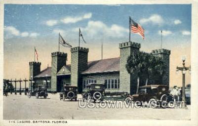 Casino - Daytona, Florida FL Postcard