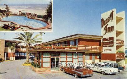 Desert Inn - Daytona, Florida FL Postcard