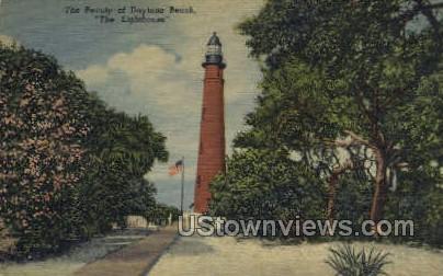 The Lighthouse - Daytona, Florida FL Postcard