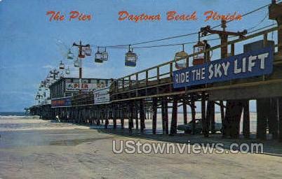 The Pier - Daytona, Florida FL Postcard