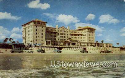 Plaza Hotel - Daytona, Florida FL Postcard