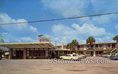 Buccaneer Motel - Daytona, Florida FL Postcard