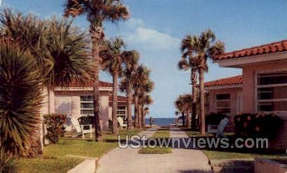 Bahama Colony - Daytona, Florida FL Postcard