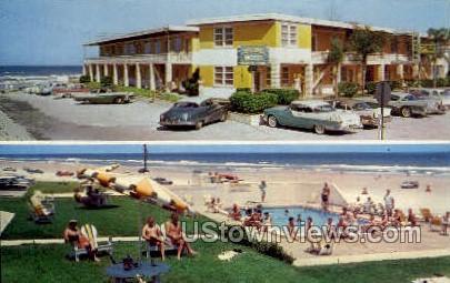 Copacabana Motel - Daytona, Florida FL Postcard