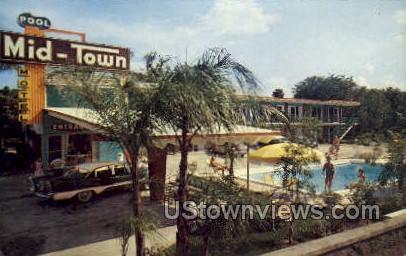 Mid-Town Motel - Daytona, Florida FL Postcard