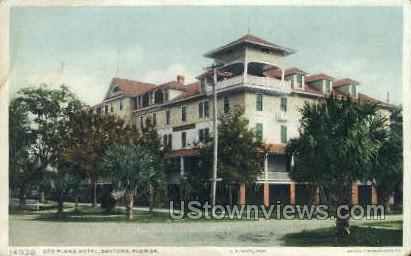 Des Pland Hotel - Daytona, Florida FL Postcard