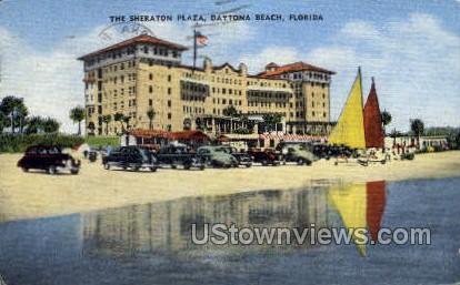 Sheraton Plaza - Daytona, Florida FL Postcard
