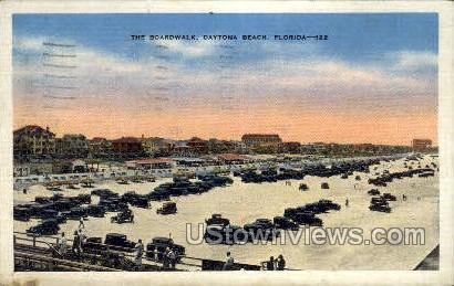 Boardwalk - Daytona, Florida FL Postcard