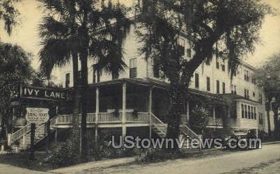 Ivy Lane Hotel - Daytona, Florida FL Postcard