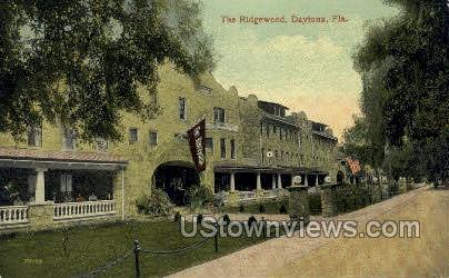 Ridgewood - Daytona, Florida FL Postcard
