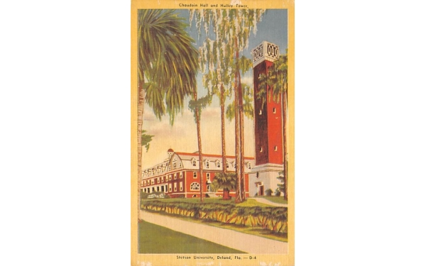 Stetson University De Land, Florida Postcard