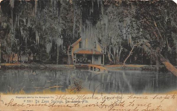 De Leon Springs De Land, Florida Postcard