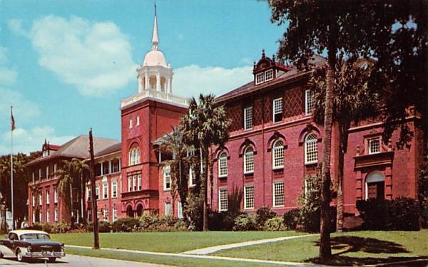 Beautiful Elizabeth Hall De Land, Florida Postcard