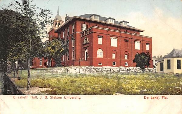 Elizabeth Hall, J. B. Stetson University De Land, Florida Postcard