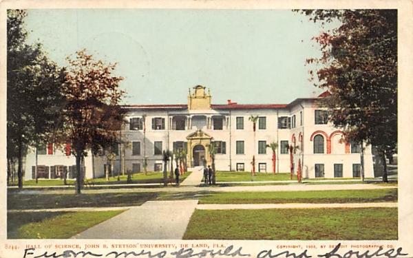 Hall of Science De Land, Florida Postcard