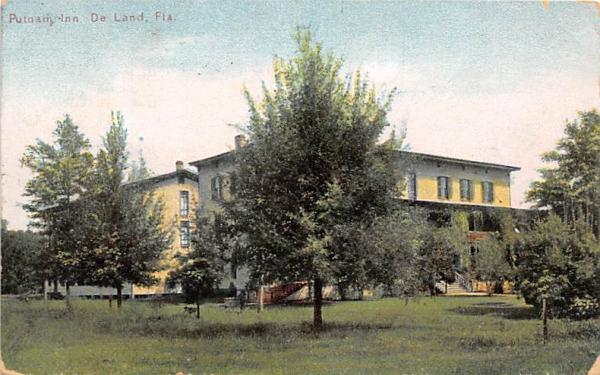 Putnam Inn De Land, Florida Postcard