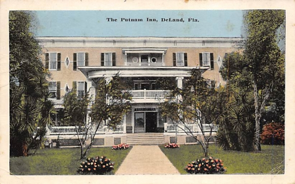 The Putnam Inn De Land, Florida Postcard