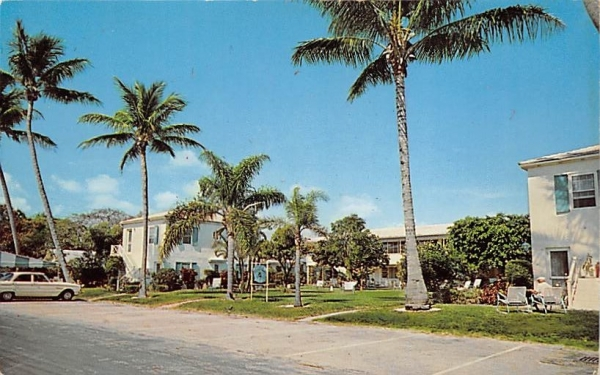 Caravel Arms Delray Beach, Florida Postcard