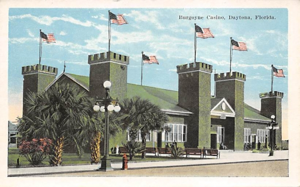 Burgoyne Casino Daytona, Florida Postcard