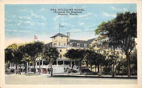 The Williams Hotel (Formerly the Despland) Daytona , Florida Postcard