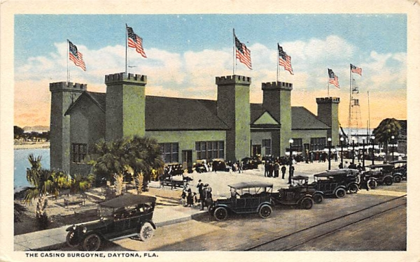 The Casino Burgoyne Daytona, Florida Postcard
