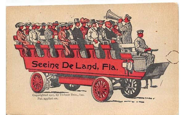 Seeing De Land, FL, USA Florida Postcard