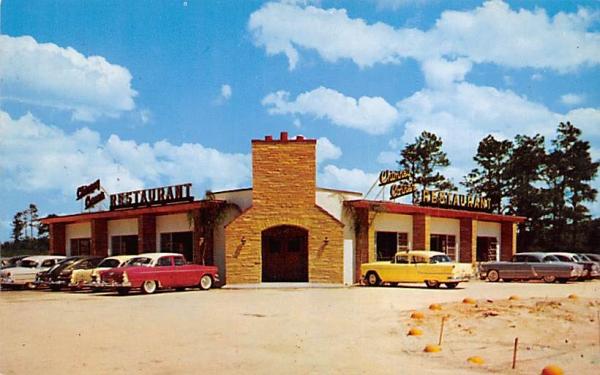 Chimney Corner Restaurant De Land, Florida Postcard