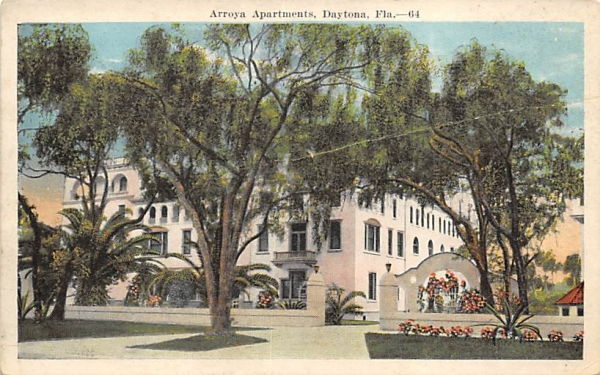 Arroya Apartments Daytona, Florida Postcard