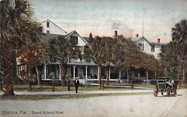 Grand Atlantic Hotel Daytona, Florida Postcard