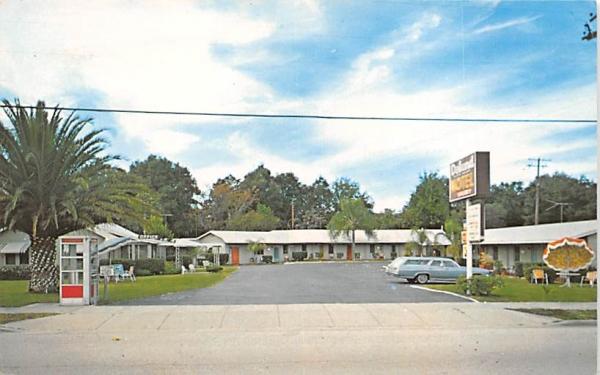 Deland Motel De Land, Florida Postcard
