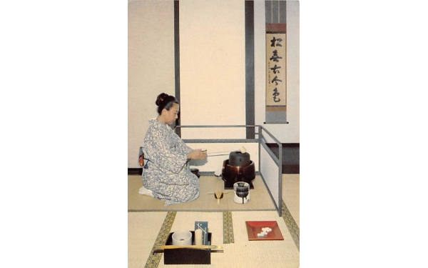 The Morikami Museum of Japanese Culture Delray Beach, Florida Postcard