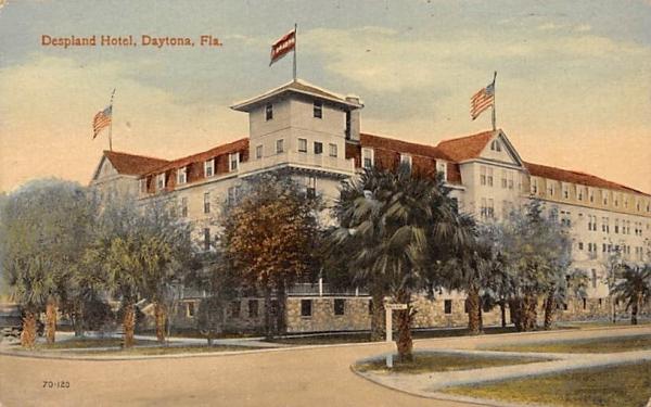 Despland Hotel Daytona, Florida Postcard