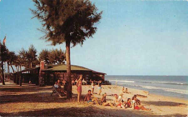 On the Beach at Briny Breezes Park Delray Beach, Florida Postcard
