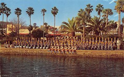 Buccaneer Band, Mainland High School Daytona Beach, Florida Postcard