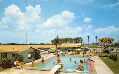 Casa Catalina Motel and Restaurant Dundee, Florida Postcard